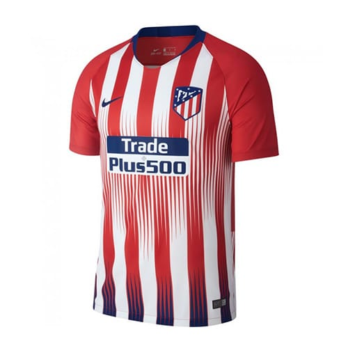 Atletico Madrid Home Jersey 2018/19 Customizable