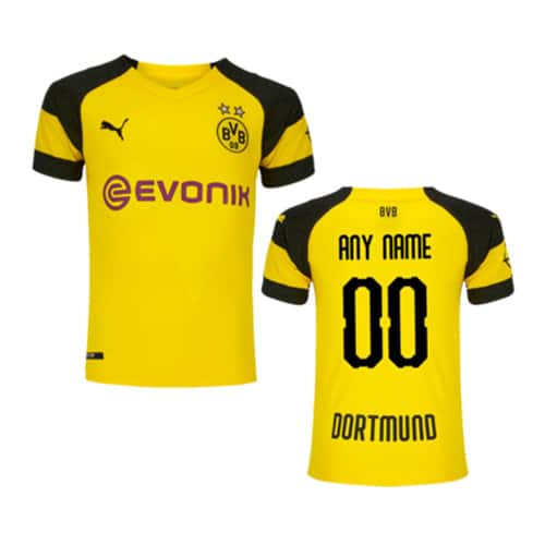 Dortmund Home Jersey 2018/19 Customizable