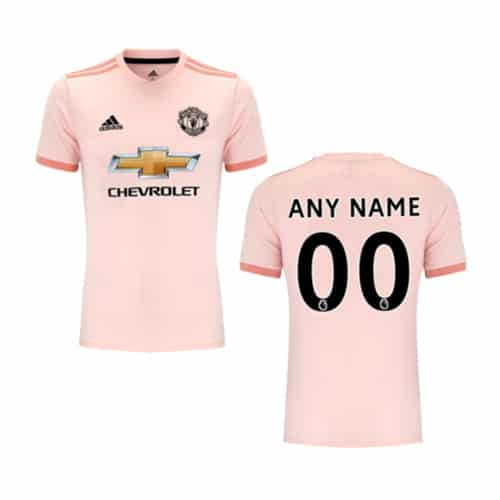 Manchester United Away Jersey 2018/19 Customizable