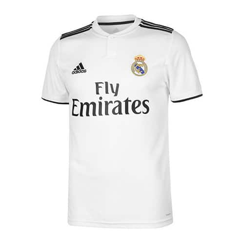 Real Madrid Home Jersey 2018/19 Customizable