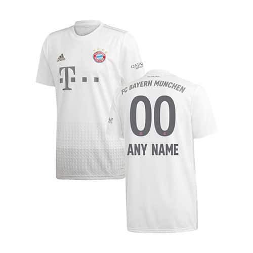 Bayern Jersey 2019/20 Away Kit Customisable